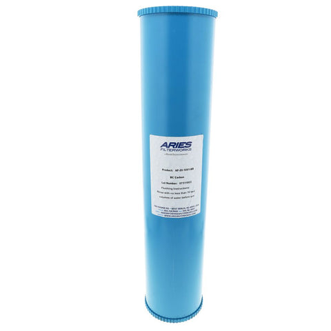 Aries AF-20-1091-BB Bone Char Fluoride Reduction Filter 4.5 x 20