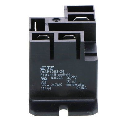 TE Connectivity Potter & Brumfield T9AP1D52-24 Standard Power Relay 240V-30A x 24VDC