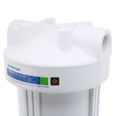 "Pentek 20"" Big White Water Filter Housing No Pressure Relief"