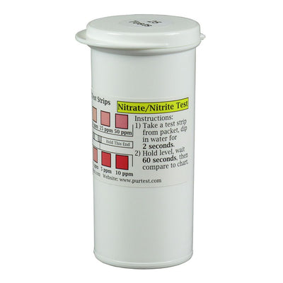 Nitrate / Nitrite Water Test Strips (25)