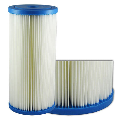 "9-7/8"" x 4-1/2"" BB Liquatec SPF Pleated - 1 mic"