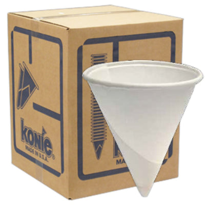 Konie Liquor Bottle Cap and Sample Cup 1.5 oz Rolled Rim Case of 5000
