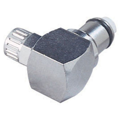 LCD21004 Valved Elbow PTF Coupling Insert 1/4 PTF