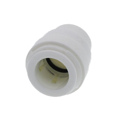 "DMfit End Stop - 5/8"" Push-in White"