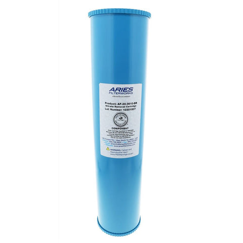 "Aries AF-20-3610-BB 20"" x 4-1/2"" Nitrate Reduction Filter"