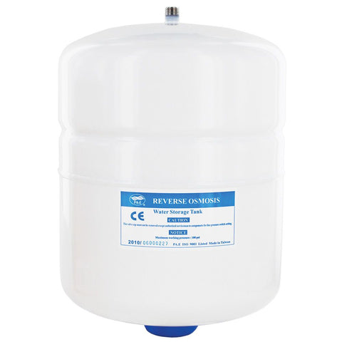 PAE RO-120 Reverse Osmosis Storage Tank Powder Coated Steel 2.1 Gal