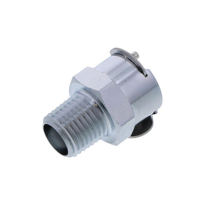 LCD10004 Valved Male Thread Coupling Body 1/4 NPT
