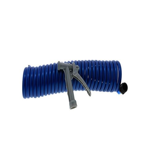 SeaTech SC25203B Supercoil Hose 25' Blue with Speed-Tap Hose Adaptor