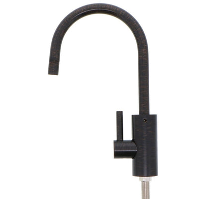 Mountain Plumbing MT1843-NL Contemporary Mini POU Faucet W/ Round Base and Handle