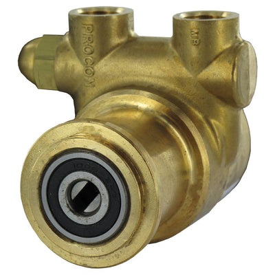 "Procon Pump Brass w/ 1143 Bronze Coupling 100 GPH 3/8"" NPT - 250 PSI Relief Valve"