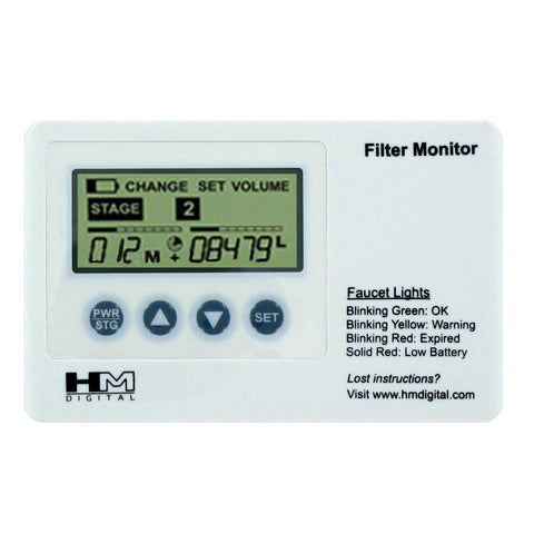 HM Digital FM-1 Filter Monitor With Water Flow Switch