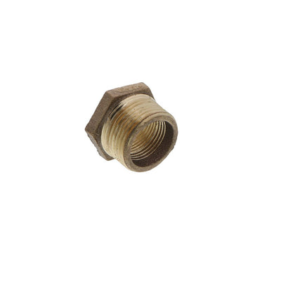 Lead Free Brass Hex Bushing - 1 MPT x 3/4 FPT
