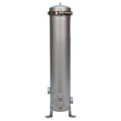 "Shelco 5FOS3 30"" Multi-Cartridge Stainless Steel Filter Housing"