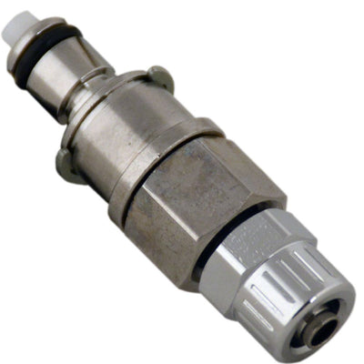 Multi-Mount Valved PTF Coupling Insert - 1/4 PTF Chrome