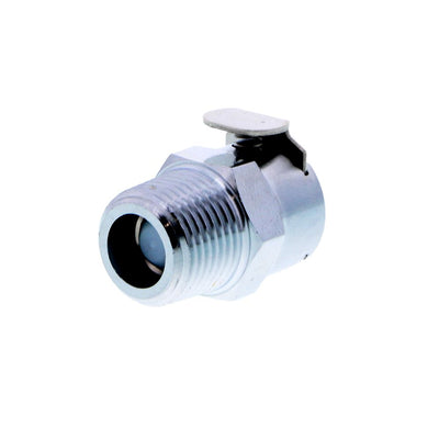 LCD10006 Valved Male Thread Coupling Body 3/8 NPT