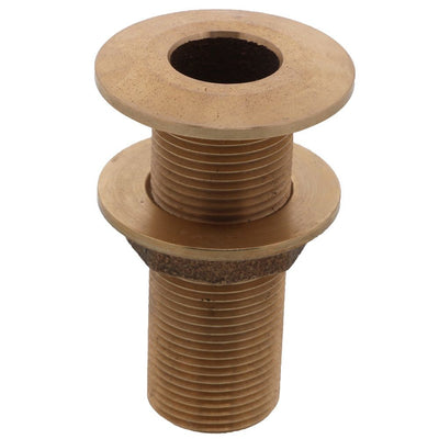 "Watts Marine Bronze Thru-Hull Assy With Nut - 1-1/4"" NPSM"