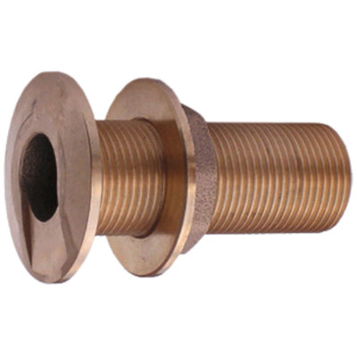 "Watts Marine Bronze High Speed Thru-Hull Assembly - 3/4"" NPSM"