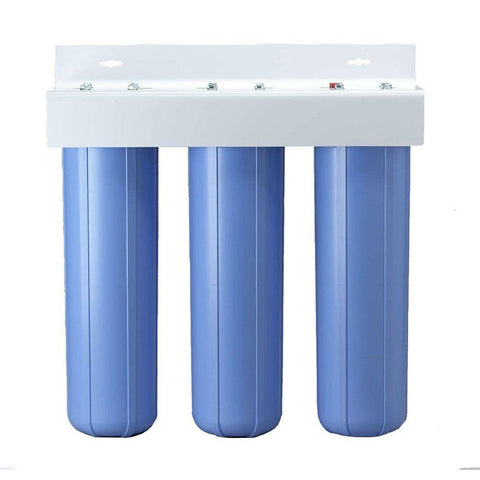 "Pentek BBFS-222 Three Big Blue Housing Filtration System - 1"" FPT"