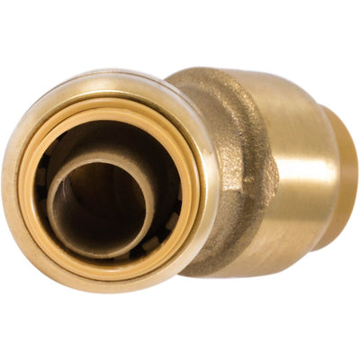 "SharkBite® U648LF Lead-Free Brass Push-to-Connect 45-Degree Elbow - 1/2"" x 1/2"""