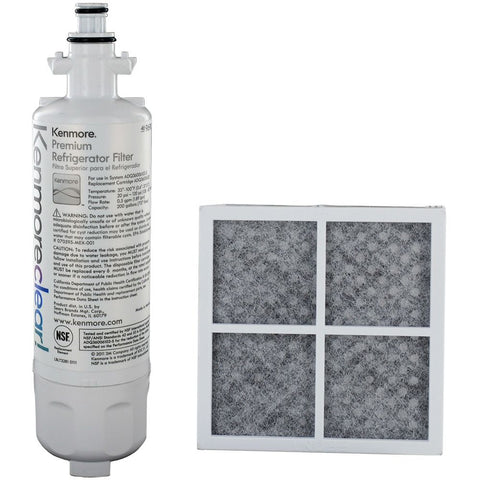Kenmore Clear 9690 Refrigerator Filter & Kenmore Elite 9918 CleanFlow Air Filter