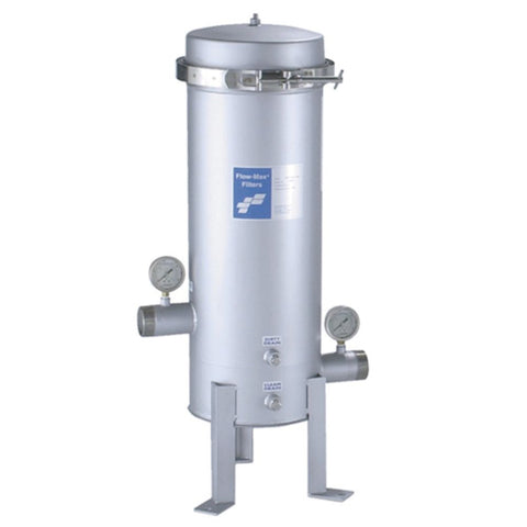 Flow-Max FMJCH90 Stainless Steel Jumbo Filter Housing 100 gpm