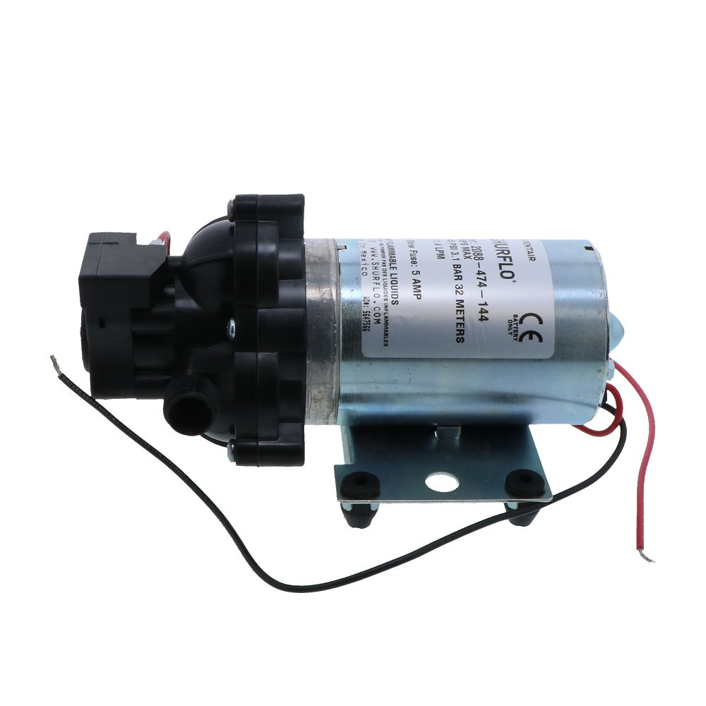 SHURflo 2088-474-144 Delivery Pump 3 0 GPM 45 PSI 24V 1/2 MPT