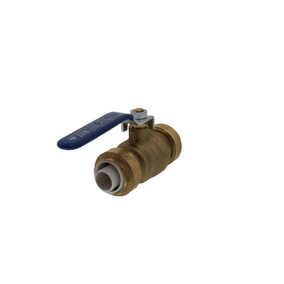Easy-Grip Brass Ball Valve Push Fit - 3/4 CTS x 3/4 CTS