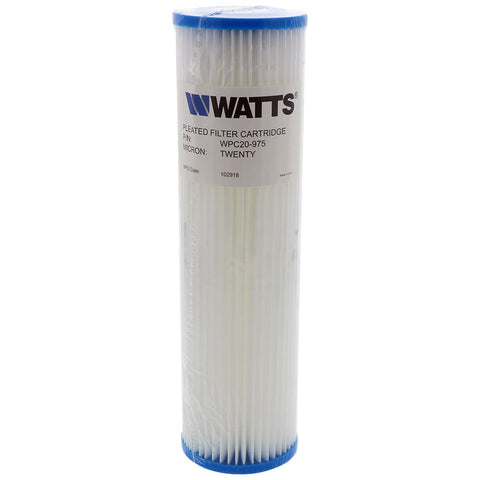 "9-3/4"" x 2-3/4"" Flow-Max Pleated Poly - 20 mic"