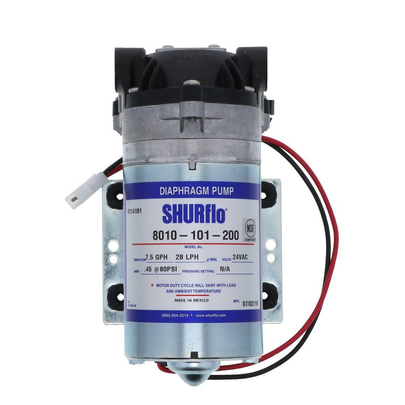 shurflo 8010 101 200 ro booster pump 50 gpd 80 psi 24v \u2013 fresh water