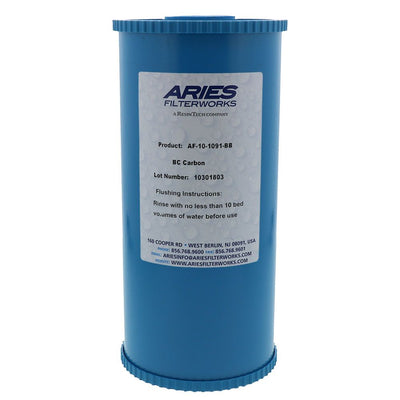 Aries AF-10-1091-BB Bone Char Fluoride Reduction Filter 4.5 x 10