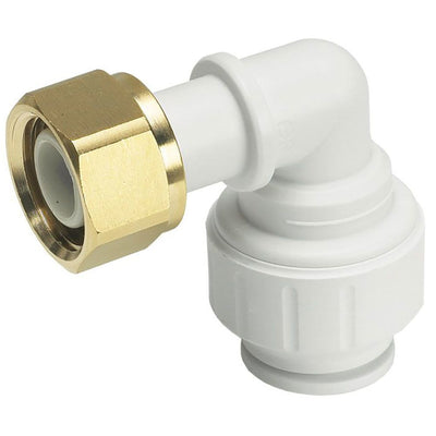 John Guest Bent Tap Connector - 15mm x 1/2 BSP