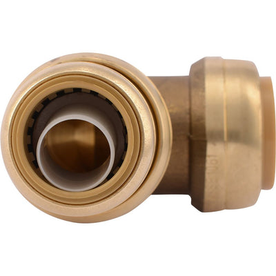 "SharkBite® U278LF Lead-Free Brass Push-to-Connect Reducing Elbow - 1"" x 3/4"""