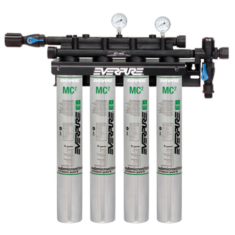 Everpure EV9337-11 QC7I Quad MC2 Filter System