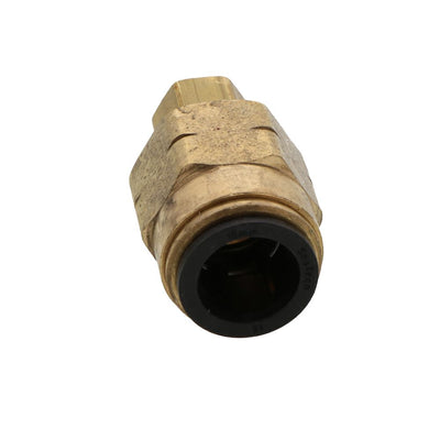 "Watts AquaLock/SeaTech - Compression connector [brass] - 15mm x 3/8"" nut"