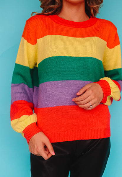 Color Chaser Sweater