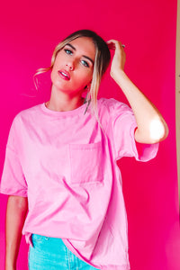 Fruit Punch Tee Pink