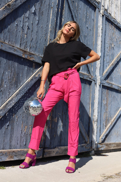 Berry Bright Pants