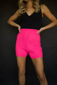 Pink Me Out Shorts