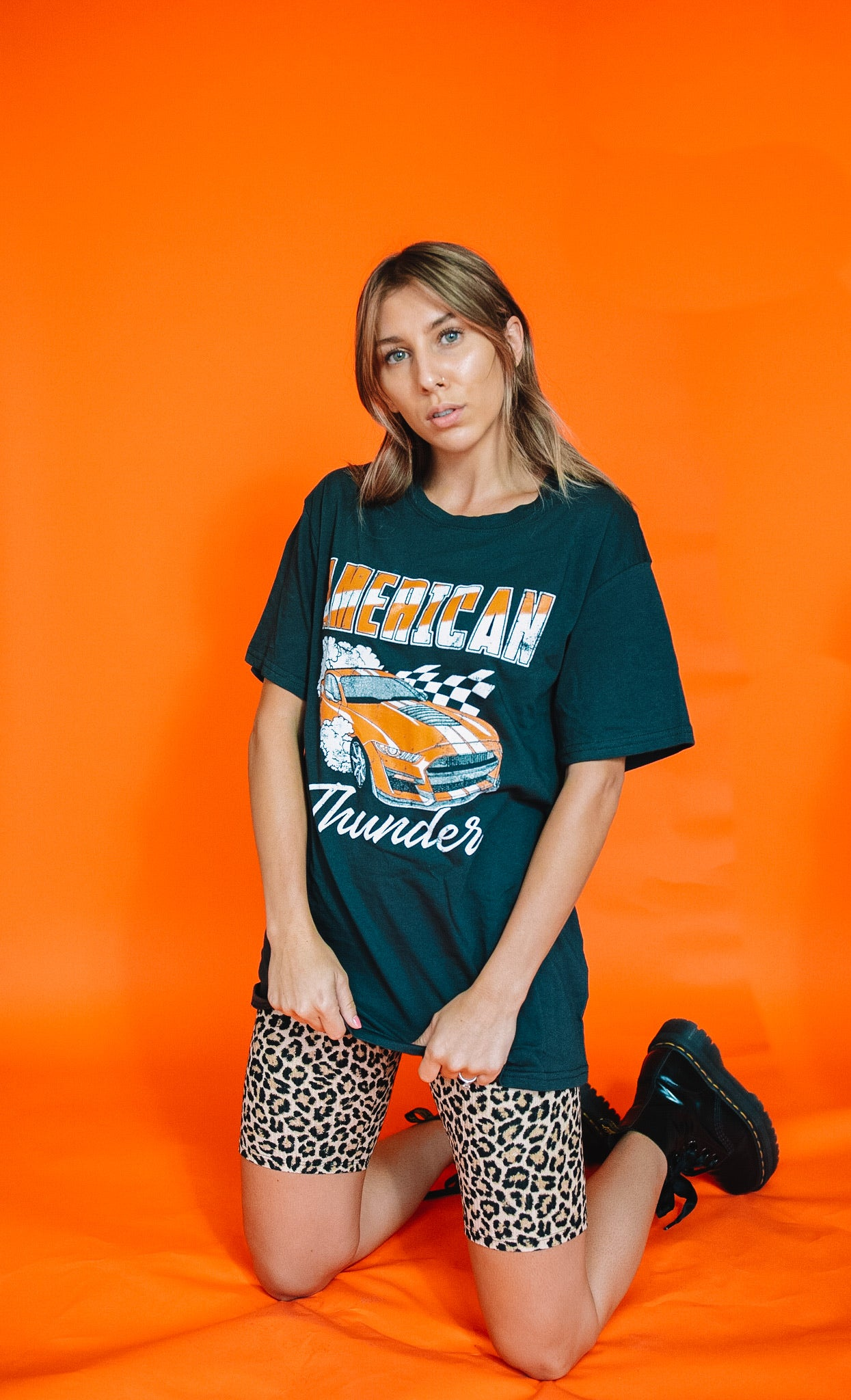 Racers Ready Oversized Tee