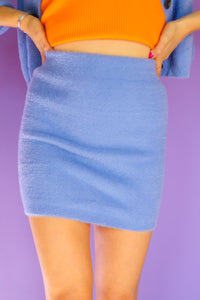 Blue on Bye Skirt
