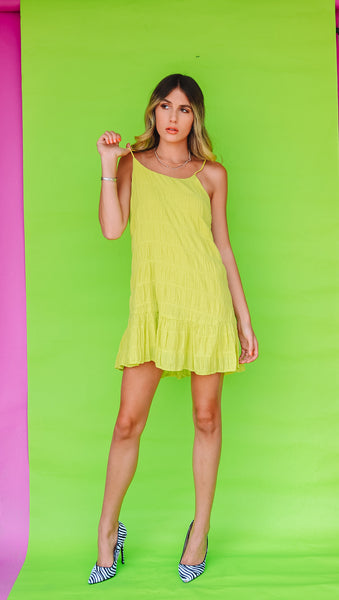 Citrus Swing Dress