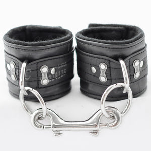 SET of Bike Tube Strap-on Harness, Cuffs, Collar