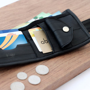 Bi-fold Bike Tube Wallet