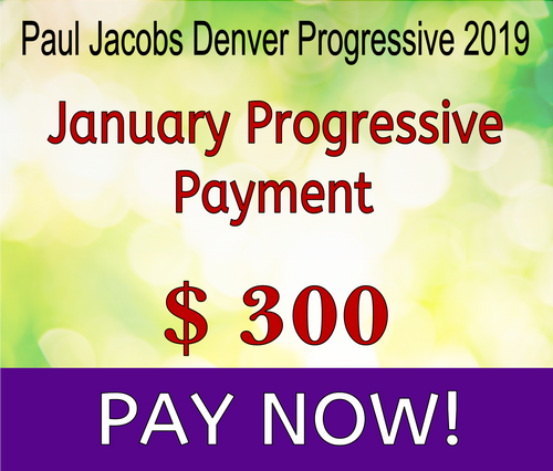 Paul Jacobs Progressive 2019 January Payment