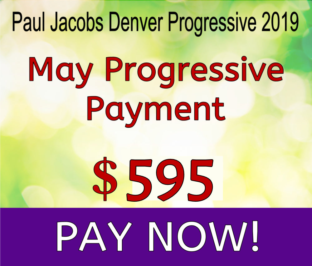 Paul Jacobs Progressive 2019- May Payment