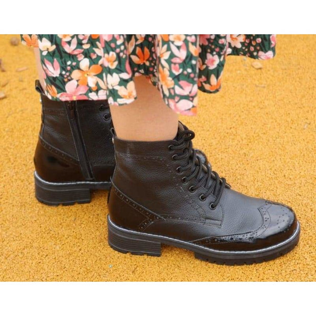 comfortable combat boots
