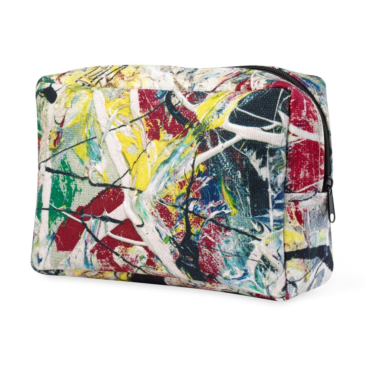 "Pollock ""White Light"" Pouch"