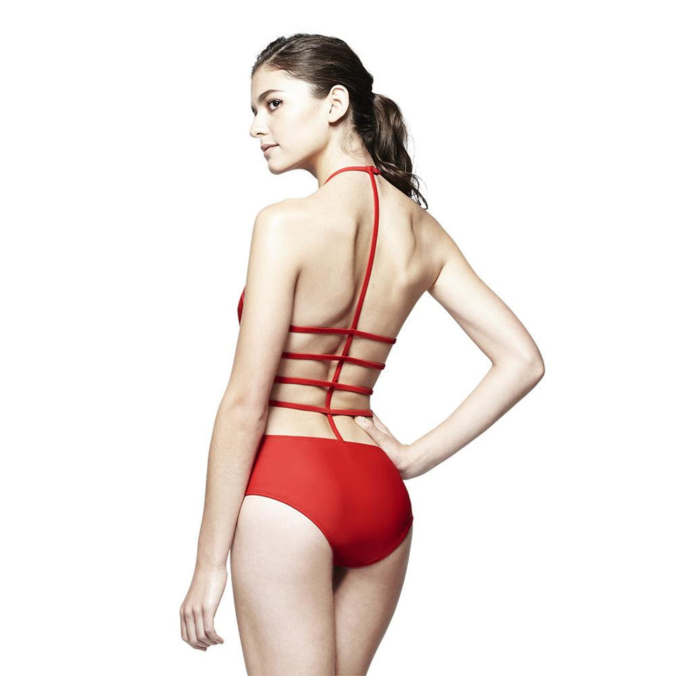 Amelia Suit Red Swimwear Chromat - der ZEITGEIST