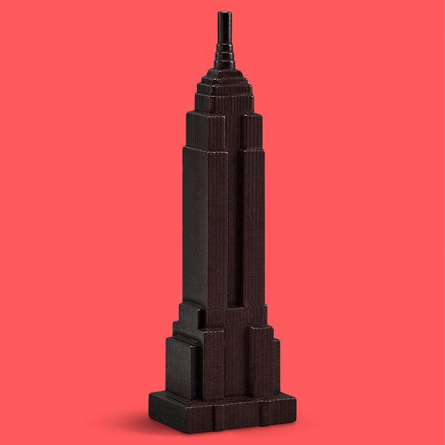 Graphite Empire State Building Sculpture Ornament MoMA - der ZEITGEIST