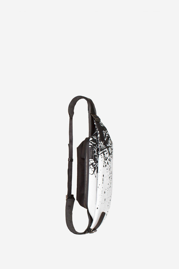 Isarau Printed Leather Backpack Backpack côte&ciel - der ZEITGEIST